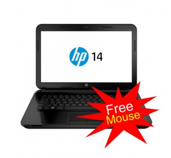 HP Notebook 14-R021TU - Black Jack